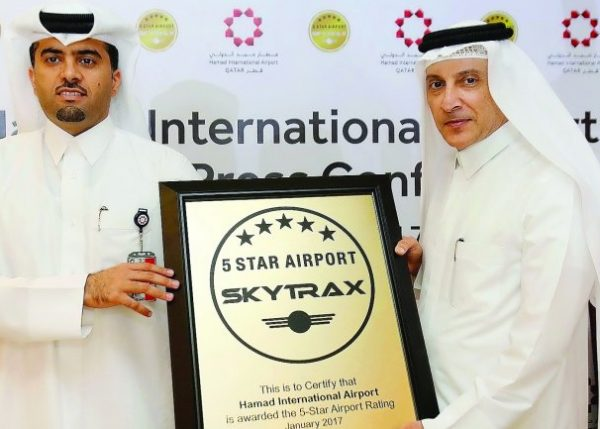 hamad international airport 5 star rating