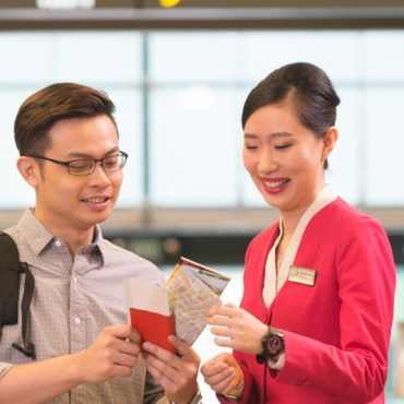 changi airport staff service