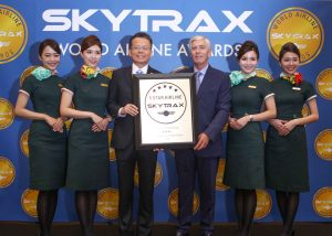 eva air 5 star airline